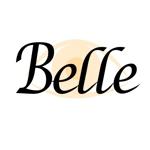 mach310さんのカラーコンタクト「Belle」のロゴ作成への提案