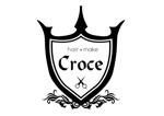 sakura-design-studioさんの美容室「hair+make Croce」のロゴ作成への提案