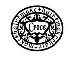 fomharさんの美容室「hair+make Croce」のロゴ作成への提案