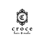 CMYKさんの美容室「hair+make Croce」のロゴ作成への提案