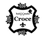 FISHERMANさんの美容室「hair+make Croce」のロゴ作成への提案