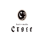 J-wonderさんの美容室「hair+make Croce」のロゴ作成への提案
