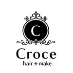 marimo85さんの美容室「hair+make Croce」のロゴ作成への提案