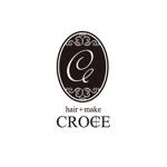 Mrgakuさんの美容室「hair+make Croce」のロゴ作成への提案