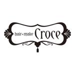 rococoさんの美容室「hair+make Croce」のロゴ作成への提案