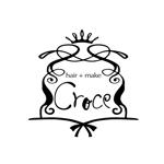 yoko115さんの美容室「hair+make Croce」のロゴ作成への提案