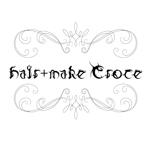 JUKEROCKSさんの美容室「hair+make Croce」のロゴ作成への提案