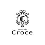 curypapasanさんの美容室「hair+make Croce」のロゴ作成への提案