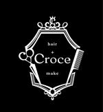 uhagiさんの美容室「hair+make Croce」のロゴ作成への提案
