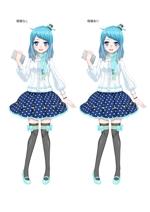 Exebさんのアニメディアの萌キャラクター製作依頼への提案