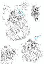 suzukilaさんのアニメディアの萌キャラクター製作依頼への提案