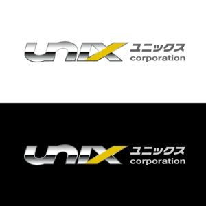 ck_designさんの自動車販売、自動車輸出入の会社「UNIX   」のロゴ作成への提案