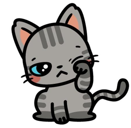 可愛い子猫のイラストの仕事 依頼 料金 イラスト制作の仕事