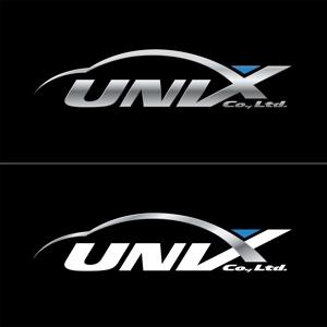 kaeru-4gさんの自動車販売、自動車輸出入の会社「UNIX   」のロゴ作成への提案