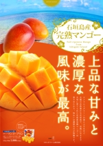 hide_tokuさんの石垣島産完熟マンゴーを紹介するポスター制作への提案