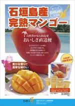 Cam_104さんの石垣島産完熟マンゴーを紹介するポスター制作への提案