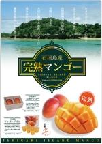 kyoo_35さんの石垣島産完熟マンゴーを紹介するポスター制作への提案