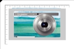 e_hana78さんのパナソニックのデジタルカメラ「LUMIX」の外装デザインを募集への提案