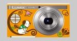 mamarinさんのパナソニックのデジタルカメラ「LUMIX」の外装デザインを募集への提案