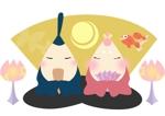 moisoraさんの一般社団法人日本人形協会による、大人のひな人形のデザイン依頼ですへの提案