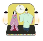 reiaさんの一般社団法人日本人形協会による、大人のひな人形のデザイン依頼ですへの提案