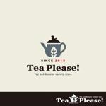 smoke-smokeさんの「Tea Please!」のロゴ作成への提案