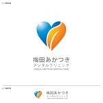 take5-designさんの「梅田あかつきメンタルクリニック」のロゴ作成への提案