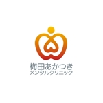 zianoさんの「梅田あかつきメンタルクリニック」のロゴ作成への提案