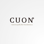 sa_akutsuさんのナチュラルな新規の雑貨ブランド「cuon」のロゴ作成への提案