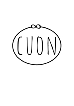 tomtomtommy46さんのナチュラルな新規の雑貨ブランド「cuon」のロゴ作成への提案