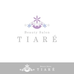 -TKN-さんの美容室「TIARÉ」のロゴ作成への提案