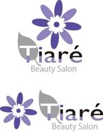 soramomoさんの美容室「TIARÉ」のロゴ作成への提案