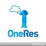 2038designさんのクラウド型リカバリーソフト「OneRes (ワンレス)」のロゴ(商品イメージ)作成への提案