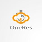 sa_akutsuさんのクラウド型リカバリーソフト「OneRes (ワンレス)」のロゴ(商品イメージ)作成への提案
