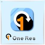 ST-Designさんのクラウド型リカバリーソフト「OneRes (ワンレス)」のロゴ(商品イメージ)作成への提案