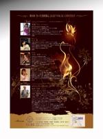 luxman0218さんのJAZZ歌姫ライブのチラシ・ポスターデザインへの提案