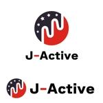it-bearさんのミャンマーへ日系で初進出!フィットネススタジオ「J-Active」のロゴへの提案