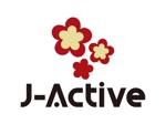 tsujimoさんのミャンマーへ日系で初進出!フィットネススタジオ「J-Active」のロゴへの提案