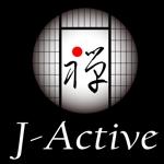 easelさんのミャンマーへ日系で初進出!フィットネススタジオ「J-Active」のロゴへの提案