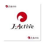 MT_KHさんのミャンマーへ日系で初進出!フィットネススタジオ「J-Active」のロゴへの提案