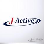 beanさんのミャンマーへ日系で初進出!フィットネススタジオ「J-Active」のロゴへの提案