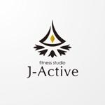 sa_akutsuさんのミャンマーへ日系で初進出!フィットネススタジオ「J-Active」のロゴへの提案