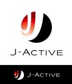 claphandsさんのミャンマーへ日系で初進出!フィットネススタジオ「J-Active」のロゴへの提案