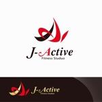 Doing1248さんのミャンマーへ日系で初進出!フィットネススタジオ「J-Active」のロゴへの提案