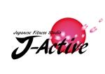 kon-7520さんのミャンマーへ日系で初進出!フィットネススタジオ「J-Active」のロゴへの提案