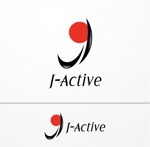 heartさんのミャンマーへ日系で初進出!フィットネススタジオ「J-Active」のロゴへの提案