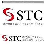 AQUA-pontaさんの「STC または エスティーコミュニケーションズ」のロゴ作成への提案