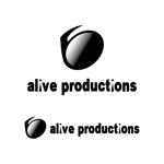 「株式会社 alive productions」のロゴへの提案