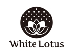 tsujimoさんの新規開店のベトナム料理専門店 「White Lotus」のロゴへの提案