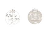 marukeiさんの新規開店のベトナム料理専門店 「White Lotus」のロゴへの提案